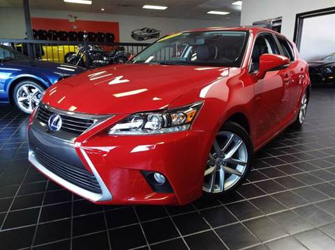 2014 Lexus CT 200h for sale at SAINT CHARLES MOTORCARS in Saint Charles IL