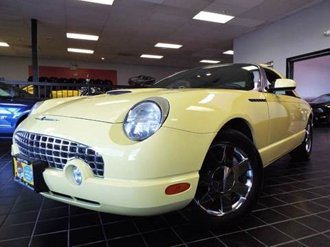2002 Ford Thunderbird for sale at SAINT CHARLES MOTORCARS in Saint Charles IL