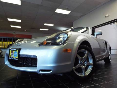 2000 Toyota MR2 Spyder for sale at SAINT CHARLES MOTORCARS in Saint Charles IL