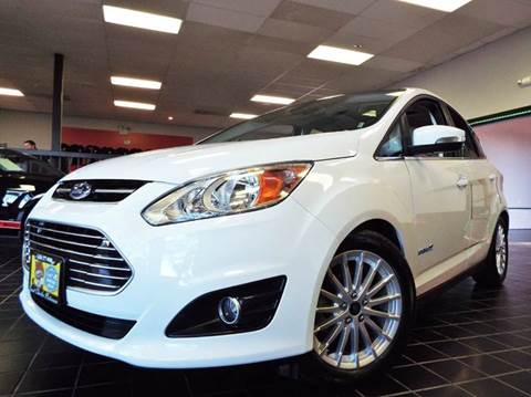 2015 Ford C-MAX Hybrid for sale at SAINT CHARLES MOTORCARS in Saint Charles IL