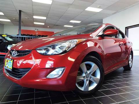 2013 Hyundai Elantra for sale at SAINT CHARLES MOTORCARS in Saint Charles IL