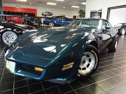 1981 Chevrolet Corvette for sale at SAINT CHARLES MOTORCARS in Saint Charles IL