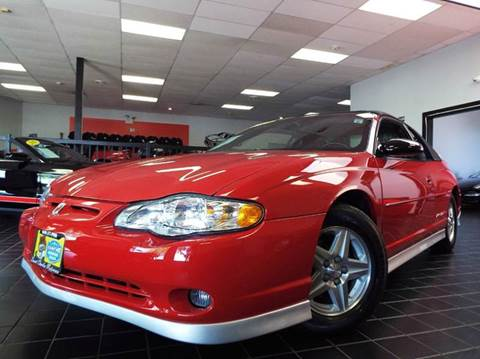 2003 Chevrolet Monte Carlo for sale at SAINT CHARLES MOTORCARS in Saint Charles IL