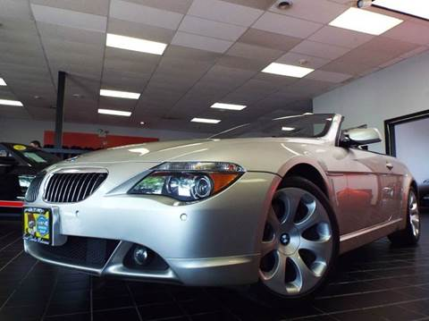 2005 BMW 6 Series for sale at SAINT CHARLES MOTORCARS in Saint Charles IL