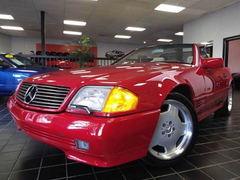 1994 Mercedes-Benz SL-Class for sale at SAINT CHARLES MOTORCARS in Saint Charles IL