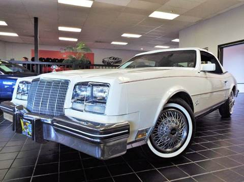 1982 Buick Riviera for sale at SAINT CHARLES MOTORCARS in Saint Charles IL