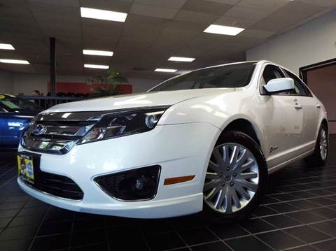 2011 Ford Fusion Hybrid for sale at SAINT CHARLES MOTORCARS in Saint Charles IL
