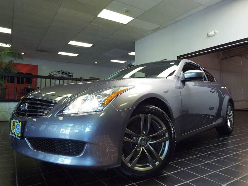 2009 Infiniti G37 Coupe for sale at SAINT CHARLES MOTORCARS in Saint Charles IL