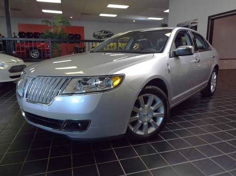 2012 Lincoln MKZ for sale at SAINT CHARLES MOTORCARS in Saint Charles IL