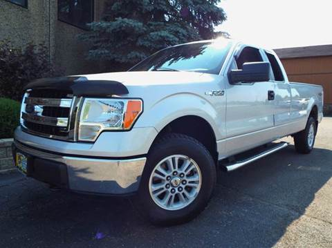 2013 Ford F-150 for sale at SAINT CHARLES MOTORCARS in Saint Charles IL