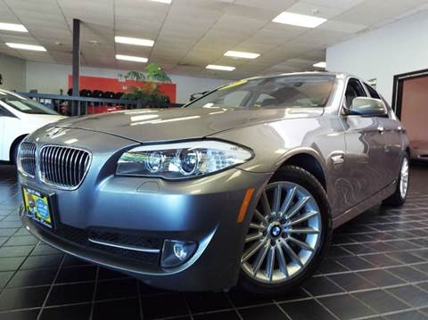 2011 BMW 5 Series for sale at SAINT CHARLES MOTORCARS in Saint Charles IL