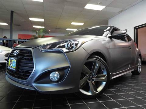 2013 Hyundai Veloster Turbo for sale at SAINT CHARLES MOTORCARS in Saint Charles IL