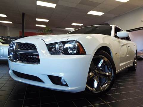 2013 Dodge Charger for sale at SAINT CHARLES MOTORCARS in Saint Charles IL