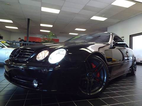 2005 Mercedes-Benz CL-Class for sale at SAINT CHARLES MOTORCARS in Saint Charles IL