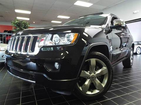 2013 Jeep Grand Cherokee for sale at SAINT CHARLES MOTORCARS in Saint Charles IL