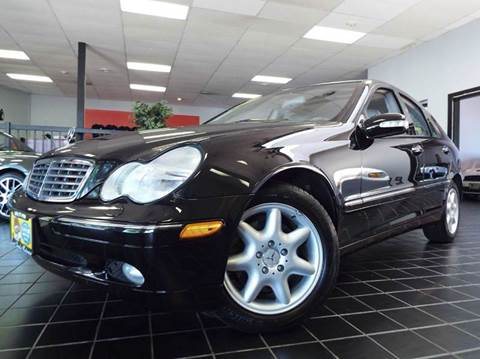 2003 Mercedes-Benz C-Class for sale at SAINT CHARLES MOTORCARS in Saint Charles IL