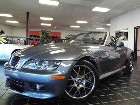 1999 BMW Z3 for sale at SAINT CHARLES MOTORCARS in Saint Charles IL