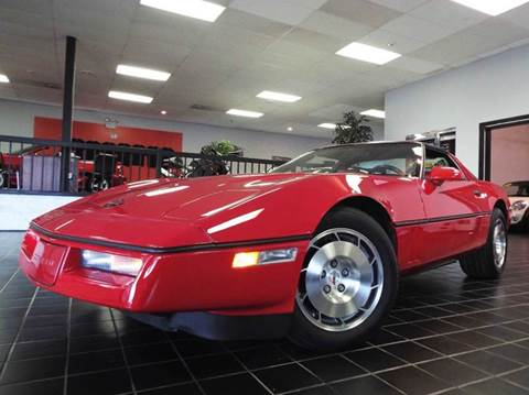 1986 Chevrolet Corvette for sale at SAINT CHARLES MOTORCARS in Saint Charles IL