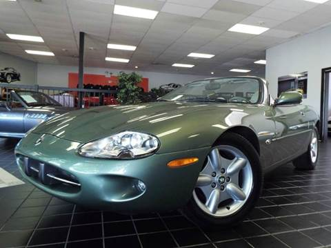 1999 Jaguar XK-Series for sale at SAINT CHARLES MOTORCARS in Saint Charles IL