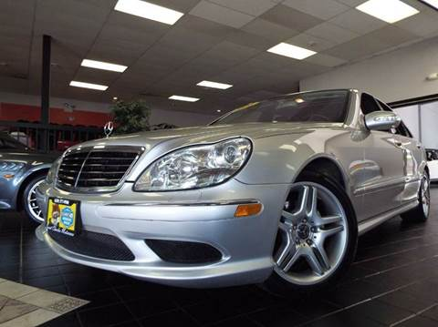 2006 Mercedes-Benz S-Class for sale at SAINT CHARLES MOTORCARS in Saint Charles IL