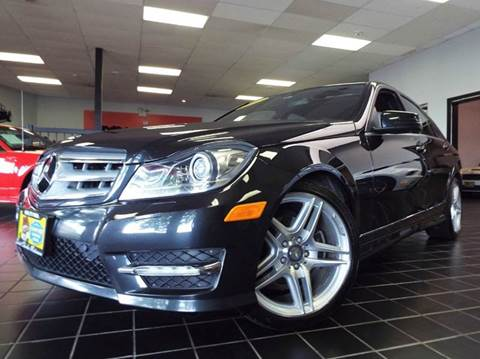 2012 Mercedes-Benz C-Class for sale at SAINT CHARLES MOTORCARS in Saint Charles IL