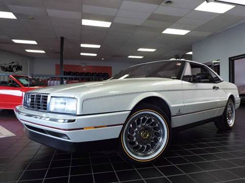 1989 Cadillac Allante for sale at SAINT CHARLES MOTORCARS in Saint Charles IL