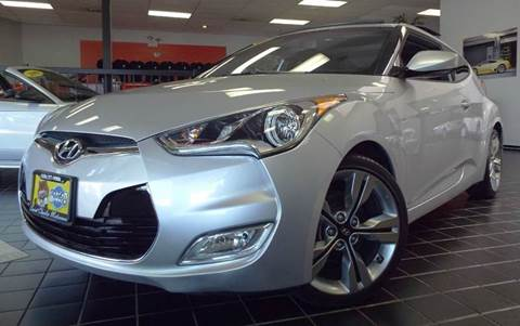2013 Hyundai Veloster for sale at SAINT CHARLES MOTORCARS in Saint Charles IL