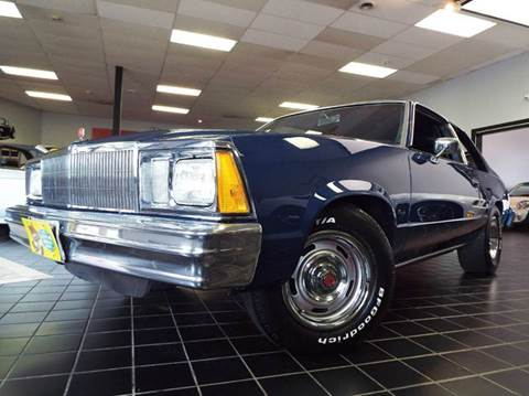 1979 Chevrolet Malibu for sale at SAINT CHARLES MOTORCARS in Saint Charles IL
