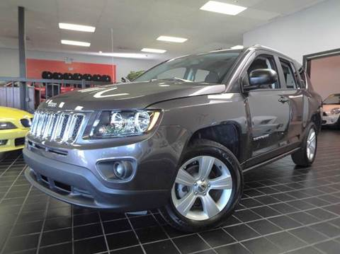 2016 Jeep Compass for sale at SAINT CHARLES MOTORCARS in Saint Charles IL