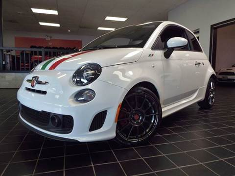 2015 FIAT 500 for sale at SAINT CHARLES MOTORCARS in Saint Charles IL