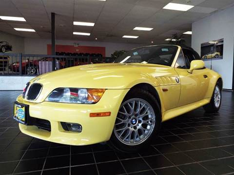 1998 BMW Z3 for sale at SAINT CHARLES MOTORCARS in Saint Charles IL