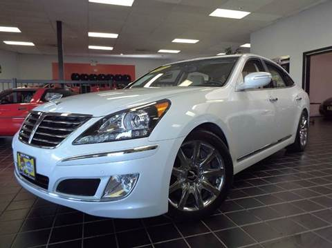 2012 Hyundai Equus for sale at SAINT CHARLES MOTORCARS in Saint Charles IL