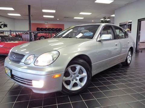 2001 Lexus GS 300 for sale at SAINT CHARLES MOTORCARS in Saint Charles IL