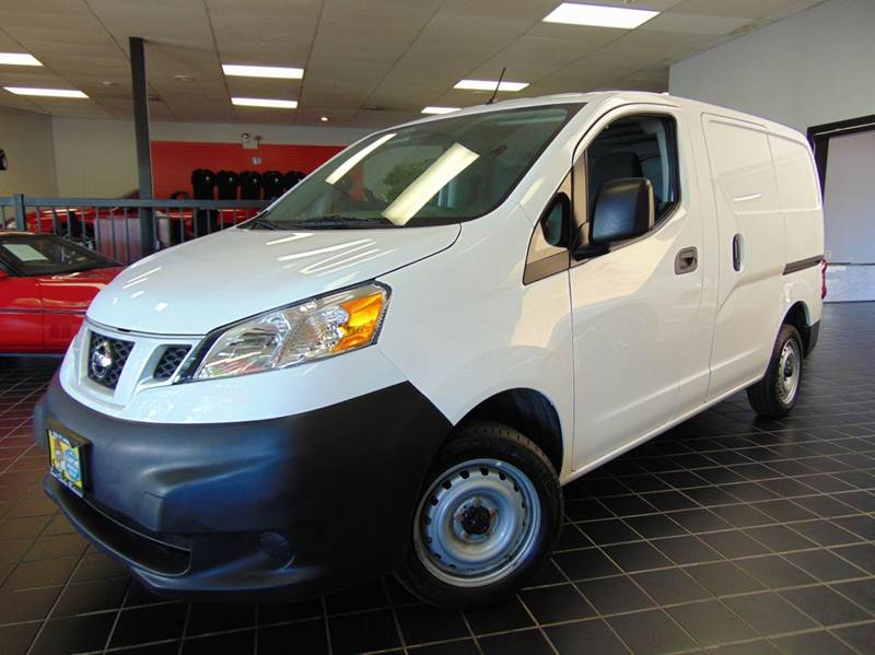 2015 Nissan NV200 for sale at SAINT CHARLES MOTORCARS in Saint Charles IL