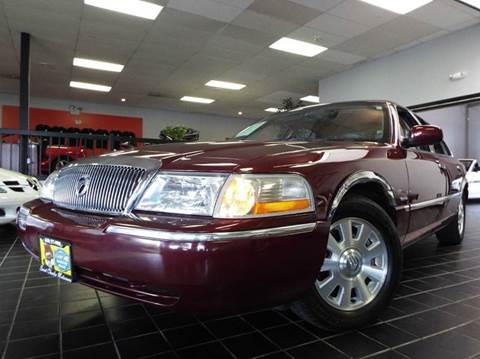 2004 Mercury Grand Marquis for sale at SAINT CHARLES MOTORCARS in Saint Charles IL