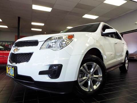 2013 Chevrolet Equinox for sale at SAINT CHARLES MOTORCARS in Saint Charles IL