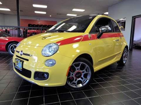 2012 FIAT 500 for sale at SAINT CHARLES MOTORCARS in Saint Charles IL