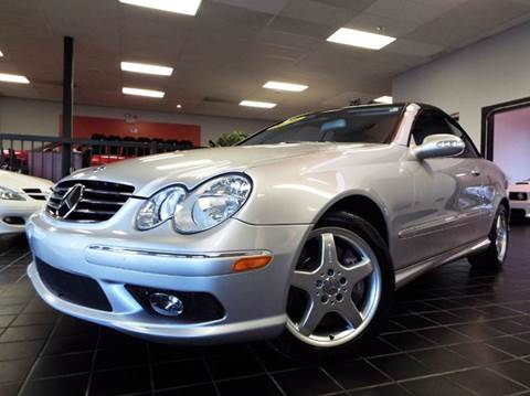 2004 Mercedes-Benz CLK for sale at SAINT CHARLES MOTORCARS in Saint Charles IL