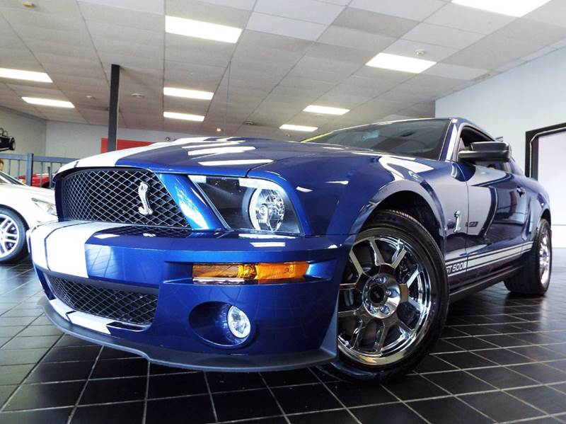 2008 Ford Shelby GT500 for sale at SAINT CHARLES MOTORCARS in Saint Charles IL