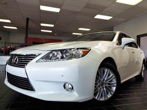 2013 Lexus ES 350 for sale at SAINT CHARLES MOTORCARS in Saint Charles IL