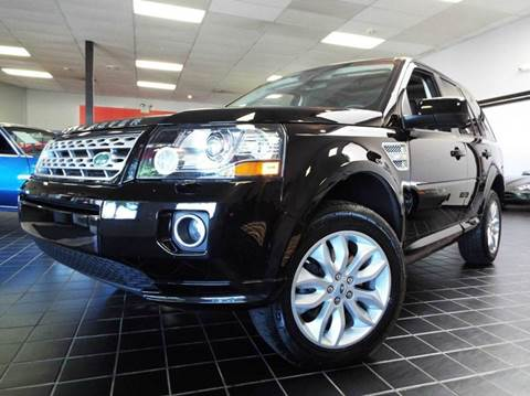 2013 Land Rover LR2 for sale at SAINT CHARLES MOTORCARS in Saint Charles IL