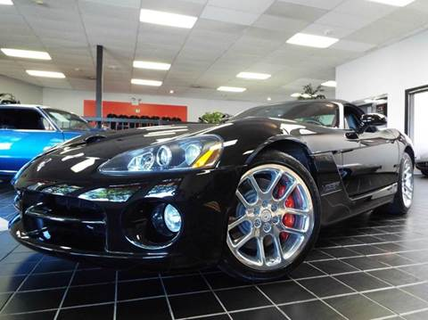 2004 Dodge Viper for sale at SAINT CHARLES MOTORCARS in Saint Charles IL
