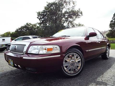 2008 Mercury Grand Marquis for sale at SAINT CHARLES MOTORCARS in Saint Charles IL