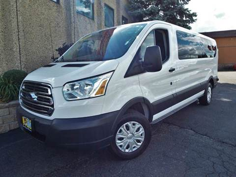 2016 Ford Transit Wagon for sale at SAINT CHARLES MOTORCARS in Saint Charles IL