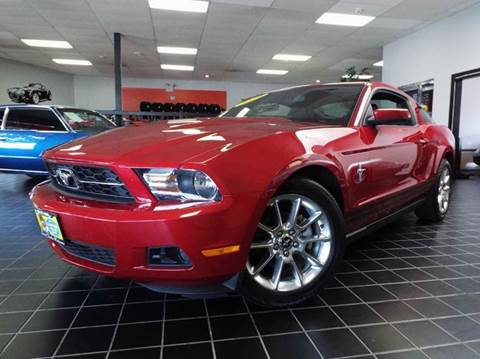 2010 Ford Mustang for sale at SAINT CHARLES MOTORCARS in Saint Charles IL