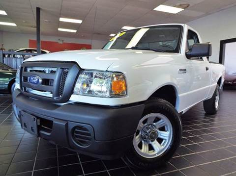 2011 Ford Ranger for sale at SAINT CHARLES MOTORCARS in Saint Charles IL