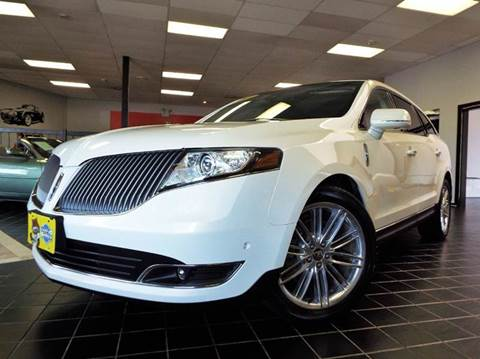 2013 Lincoln MKT for sale at SAINT CHARLES MOTORCARS in Saint Charles IL