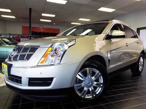 2010 Cadillac SRX for sale at SAINT CHARLES MOTORCARS in Saint Charles IL