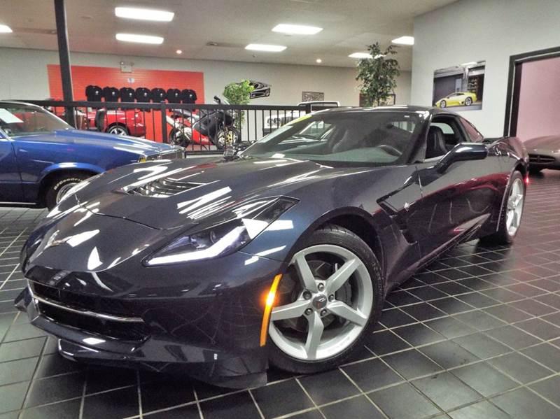 2014 Chevrolet Corvette for sale at SAINT CHARLES MOTORCARS in Saint Charles IL