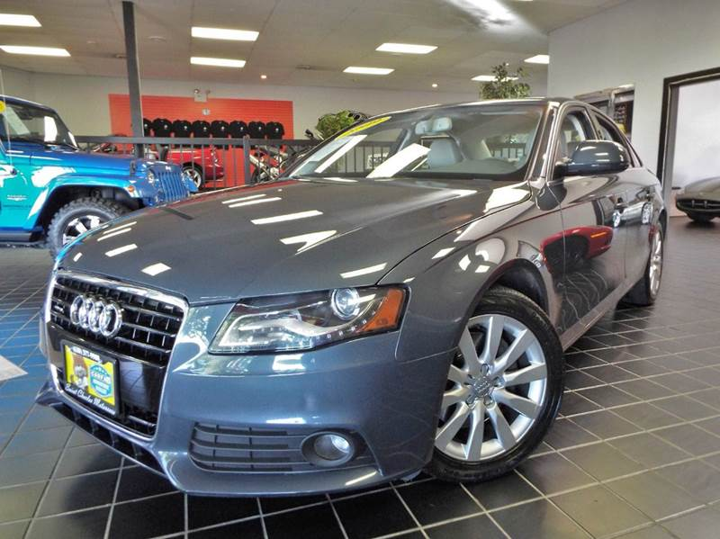 2009 Audi A4 32 Quattro Premium Plus Sedan Awd